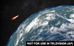 Иллюстрация действия новой российской ракеты, в существовании которой сомневаются американские эксперты