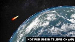 Комп'ютерне зображення гіперзвукової російської ракети, яку створює Росія