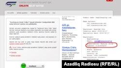 Baghlan Groupun domain ünvanı ilə Dəmiryol İdarəsinin ünvanı eynidir