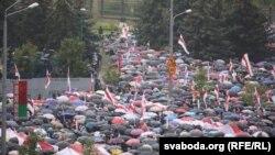 «Марш адзінства» у Менску