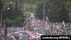La Minsk a avut loc Marșul Unității, 6 septembrie 2020
