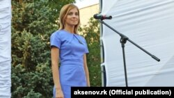 State Duma Deputy Natalia Poklonskaya is one of the harshest opponents of the film. (file photo)