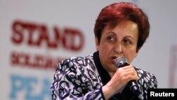 İranın Nobel sülh mükafatı laureatı Shirin Ebadi
