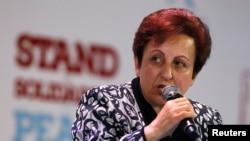 شیرین عبادی، رئیس کانون مدافعان حقوق بشر