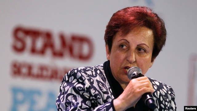 Nobel prize laureate Shirin Ebadi