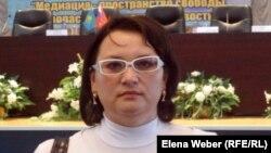 """Оксана Тарабукина, председатель общественного фонда """"Кайсар""""."""