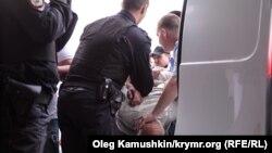 Задержание в Симферополе. Иллюстративное фото