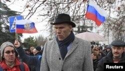Nikolai Valujev, poslanik u ruskoj Dumi u Sevastopolju 27. februar 2014
