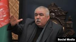 جنرال عبدالرشید دوستم معاون اول ریاست جمهوری