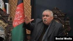جنرال دوستم معاون اول رئیس جمهور افغانستان