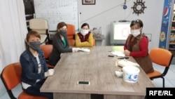 Анталиядагы кыргызстандык мигранттар.