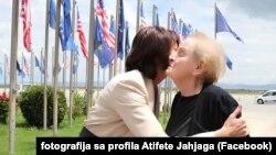 Bivša predsednica Kosova Atifete Jahjaga i Medlin Olbrajt