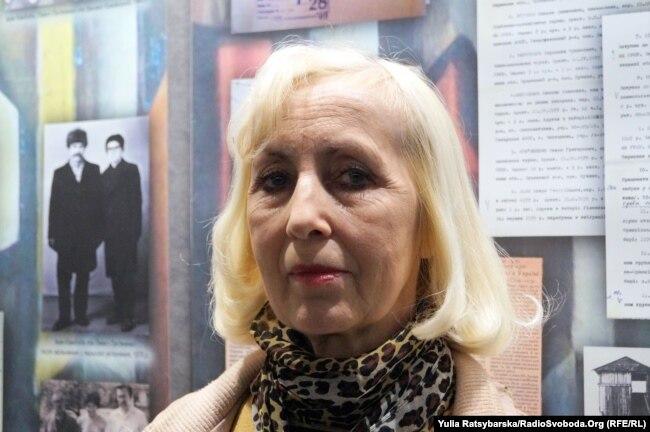 Жанна Крижановська, дочка Миколи Береславського. Дніпро, 12 квітня 2019 року