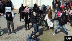 Tunisdə «Hаrlem Shake»