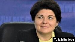 Moldovan Prime Minister-designate Natalia Gavrilita
