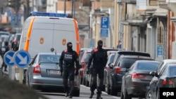 Policija u Briselu, 25. mart 2016.