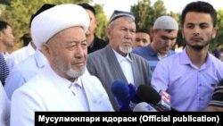 Grand Mufti Usmonkhon Alimov (file photo)