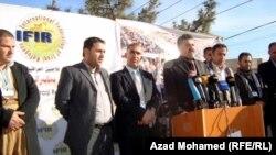 الإعلان عن تأسيس (الإتحاد العام للاجئين العراقيين) في السليمانية