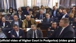 """Sa suđenja za """"državni udar"""" u Podgorici 26. oktobra 2017."""