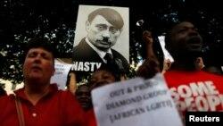 Британиядә Русия президенты Владимир Путинга протест чарасы