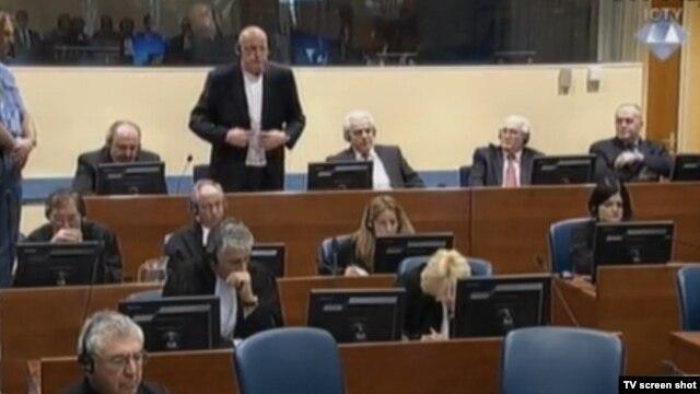 Optuženici u sudnici 29. siječnja 2015.