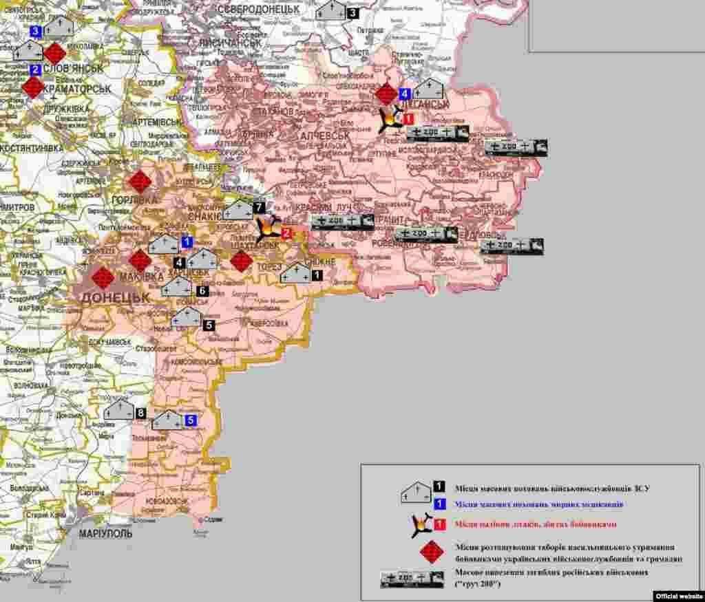 Карта СБУ