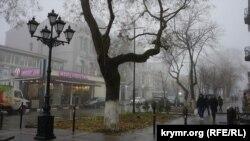 Крым, Симферополь, 29 ноября 2017 год