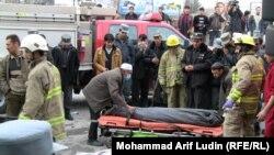 Авганистан, самоубиствен напад во супермаркет