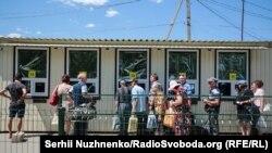 Пункт пропуска в Станице Луганськой