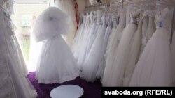 Продавница за венчаници.