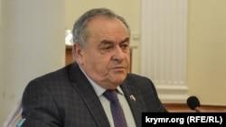 Первый вице-спикер российского парламента Крыма Ефим Фикс