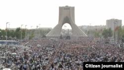 Tehranda müxalifətin aksiyası, iyun 2009