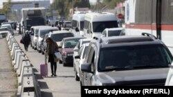 Ситуация на КПП «Акжол-автодорожный»