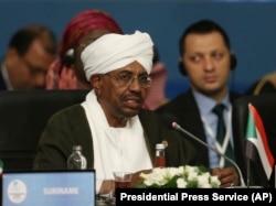 Судан президенті Омар әл-Башир. Мамыр айы, 2018 жыл.