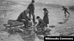 Подлёдный лов рыбы