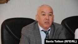 Начальник управления здравоохранения Мангистауской области Руслан Бектибаев. Актау, 18 марта 2015 года.