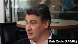 Redarstveni poslovi zadatak policije, ne vojske: Zoran Milanović