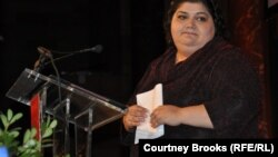 Азербайжандык журналист Хаджа Исмаилова