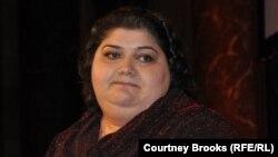 Журналистка Азербайджанской службы Радио Свобода Хадиджа Исмаилова.