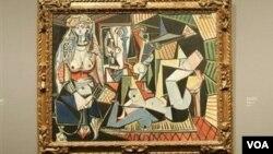 """Пабло Пикассонинг """"Жазоир аёллари"""" сериясидаги О индексли асари."""