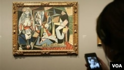 """Картина Пабло Пикассо """"Алжирские женщины"""" (версия О)."""
