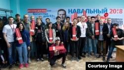 Открытие штаба Навального в Магадане