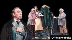 В юбилейный 80-й сезон Театр Российской армии поставил гоголевскую 'Шинель'