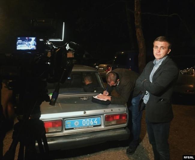 Журналісти після нападу звернулися до поліції із заявою про перешкоджання законній журналістській діяльності