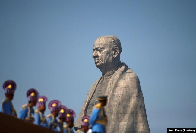 """Церемония открытия """"Статуи Единства"""". 31 октября 2018 года"""