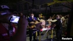 Un rănit după incendiul din hotelul de la Manila