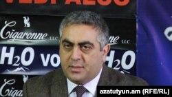 Пресс-секретарь Минобороны РА Арцрун Ованнисян (архив)