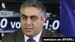 Пресс-секретарь министра обороны Армении Арцрун Ованнисян, 22 декабря 2015 г.