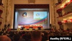 Дөнья татар конгрессы корылтаеның пленар утырышы