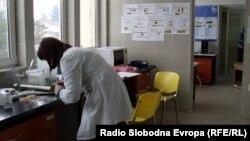 Медицинска сестра во Битолската болница